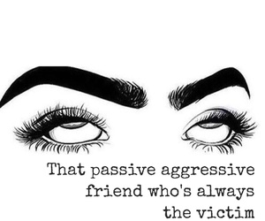 agressive, passive, and victim image