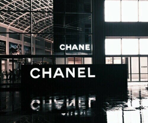 chanel, black, and aesthetic image