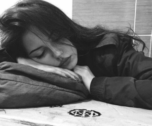 girl, sleep, and beautiful image