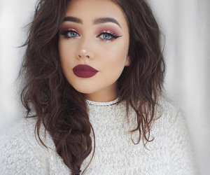 makeup, style, and beauty image