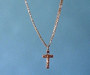 blue and cross image