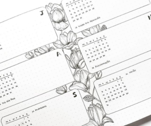 art, calendar, and drawing image