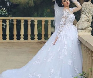 bridal dress, wedding inspirations, and princess gown image
