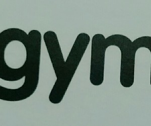 gym, motivation, and scritte image