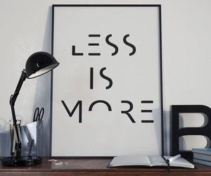 decor, less is more, and minimalist image