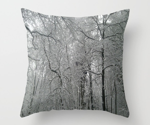deco, forest, and pillow image