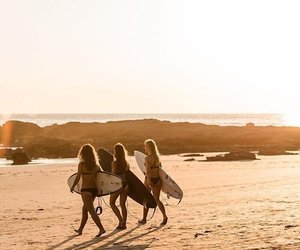 board, girls, and lifestyle image