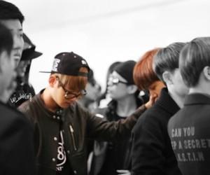 baekhyun, exo kai, and kai image