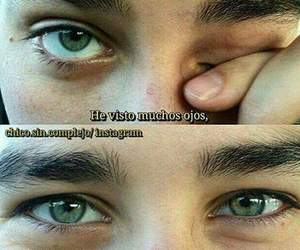 amor, ojos, and frases image