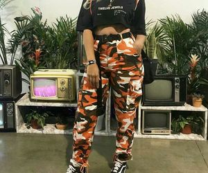 aesthetic, camo, and clothes image