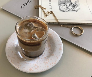 aesthetic, coffe, and drinks image