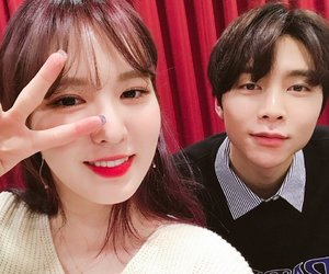 red velvet, wendy, and johnny image