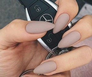 beige, benz, and car image