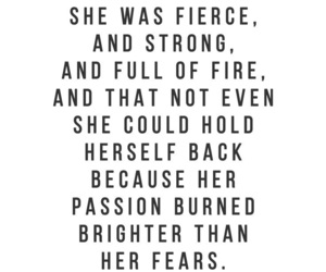 quotes, fierce, and power image