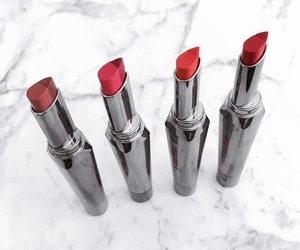 lip, lipstick, and red image
