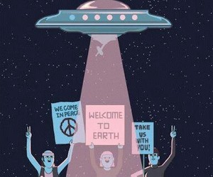 alien, gif, and tumblr image