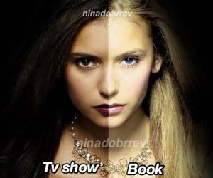 book, tv, and elena image