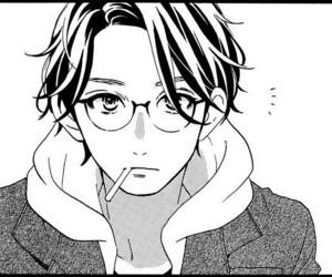 hirunaka no ryuusei, manga, and boy image