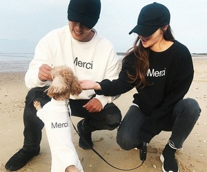 asian fashion, beach, and korean fashion image