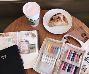 coffee, college, and notes image