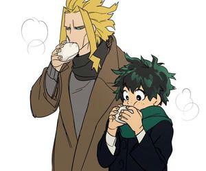 all might, boku no hero academia, and anime image