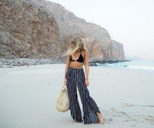 fashion, summer, and travel image