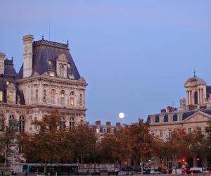 city, paris, and evening image