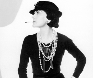 black and white and coco chanel image