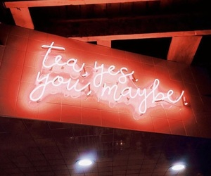 neon, tea, and perfection image