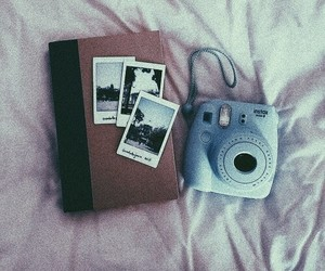 aesthetic, photo, and polaroid image
