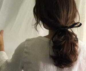hairstyle, pretty, and white image