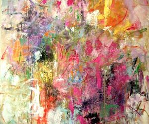 Abstract Painting, joan mitchell, and action painting image