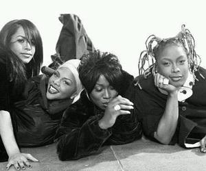 Lil Kim, aaliyah, and da brat image