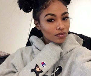 black girl, pretty, and black image