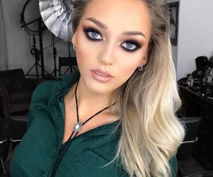 beauty, makeup, and blonde image