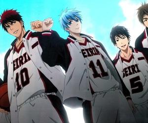 kuroko no basket, anime, and seirin image