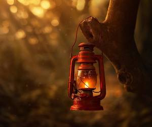 atmosphere, bokeh, and lantern image