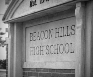 teen wolf, beacon hills, and aesthetic image