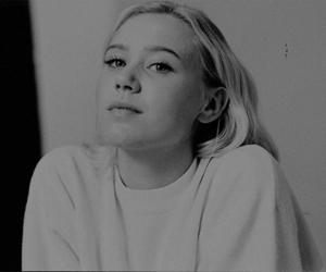 black and white, skam, and josefine frida pettersen image