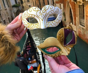 italy, mask, and venice image
