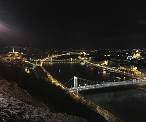 budapest, city, and travel image