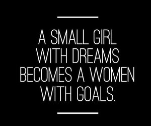 girl, woman, and goals image