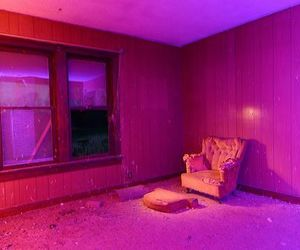 grunge, neon, and pink image