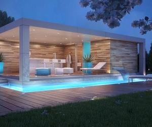 homes, luxury, and pool image