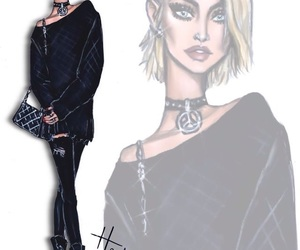 fashion, paris jackson, and art image
