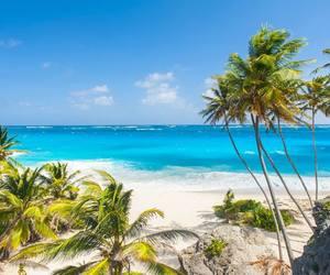 beach, rihanna, and Caribbean image