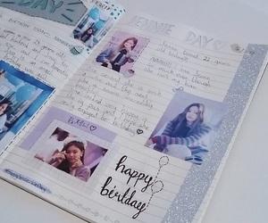 journal, blackpink, and lalisa manoban image