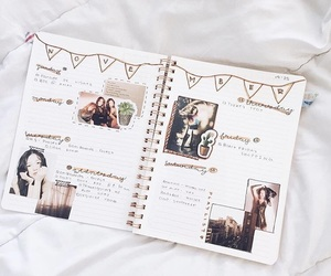 journal, kpop bujo, and kpop image