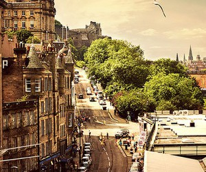 beautiful, edinburgh, and photography image