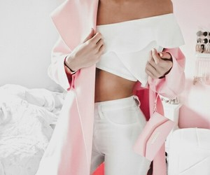 chic, girly, and pink image